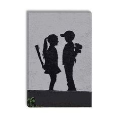 Boy Meets Girl Canvas Wrap.