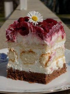 Hungarian Desserts, Hungarian Recipes, Milkshake Cupcakes, Serbian Recipes, Summer Desserts, Holiday Baking, Creative Food, Relleno, Cake Cookies