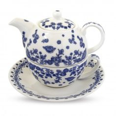 Queen Mary delft tea for one - Historic Royal Palaces online gift shop