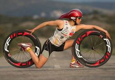When you don't have a bicycle, you can do this...:)