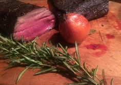 Vörösboros szarvas hátszín (bélszín) | György Abaffy receptje - Cookpad receptek