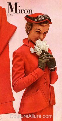 What's So Great About a Suit? 1950s Fashion, Vintage Fashion, 1940s Costume, 1940s Suit, 1940s Outfits, Suits For Women, New Look, Women's Suits, Costumes