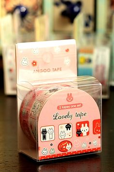 This is really cute self-adhesive PVC decorative tape