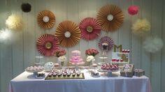 Mesa de Dulces  - Candy Bar Shower, Bar, Desserts, Food, Candy Stations, The Creation, Rain Shower Heads, Tailgate Desserts, Deserts