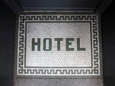 tile welcome mat Floor Patterns, Mosaic Patterns, Entry Tile, Tile Entryway, Entryway Ideas, Floor Signage, Linden Homes, Porch Flooring, Vintage Tile