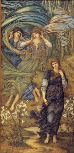 """Sponsa de Libano"" - Edward Burne Jones, 1891,"