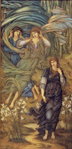 Sponsa de Libano  Edward Burne Jones