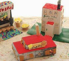 Il laboratorio, rivolto ai bambini di età compresa fra i 6 e i 10 anni, consiste nella realizzazione di una città fantastica utilizzando materiale di riciclo: scatole di cartone, carta, cartoncino...