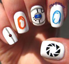 Portal 2 nails