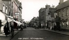 High Street, Sittingbourne, Kent...1930's.