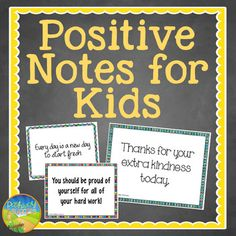 Use these positive notes to help motivate struggling learners, encourage a positive mindset, and provide positive feedback to students. These are a great behavior management tool to help your classroom. The notes are printable, fun, and easy to use. ...