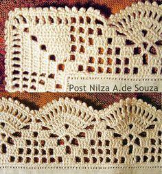 ◇◆◇ Luty Artes Crochet: barrados