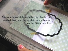 Hi Everyone, Hussena here to share with you a tutorial on how to make a flip-card using your dies and Big Shot..It's a really very easy wa...