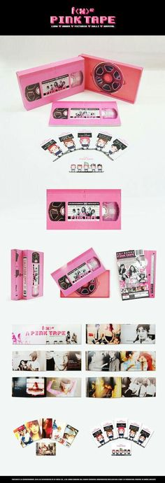 Pink Tape pink album #packaging PD