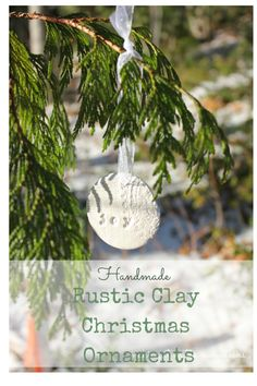 Rustic Clay Christma