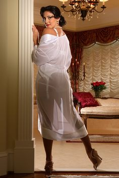 Robes & Gowns - Elegant Chiffon Robe