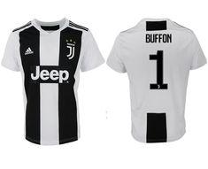 39a34d83c66 Men s Juventus Jersey  1 Gianluigi Buffon Jersey Home Soccer 2018 2019  Season