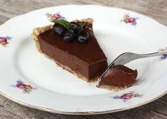 Nepečený čokoládový koláč, Nepečené zákusky, recept | Naničmama.sk