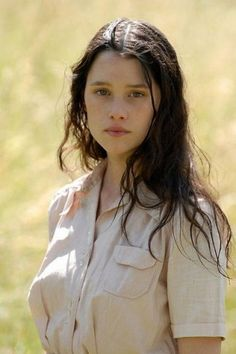 Astrid Berges-Frisbey, who I picture as the character (protagonist), Selena.