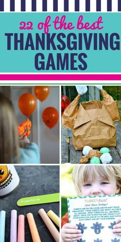 22 of the Best Thanksgiving Games - My Life and Kids