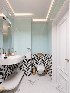 "Photo design of the bathroom from the project ""Dis .- Фото дизайн ванной комнаты из проекта «Диза… Photo design of a bathroom from … -BathroomDecorcolors BathroomDecorgrey coralBathroomDecor neutralBathroomDecor zenBathroomDecor 578149670897918003 Coral Bathroom Decor, Bathroom Layout, Bathroom Interior Design, Small Bathroom, Neutral Bathroom, Master Bathroom, Parisian Bathroom, Bathroom Canvas, Shiplap Bathroom"