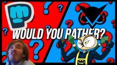 PEWDIEPIE VS. VANOSSGAMING | Would You Rather?