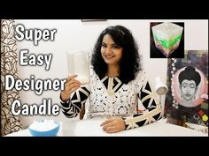Cloud Candle Making Tutorial | Designer Candle | Diy Candle - YouTube