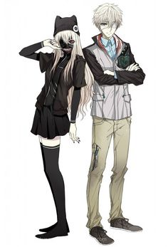 Tokyo ghoul:  Ken is now a girl I wonder how was the show would continue as this