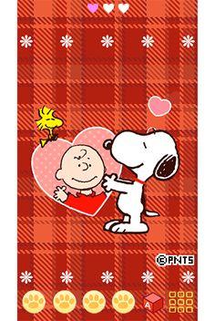 Snoopy loves Charlie Brown.