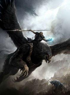 Griffin #fantasy