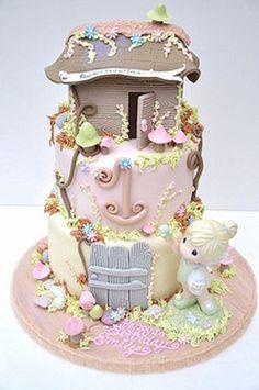 Adorable 'Precious Moments' Cake