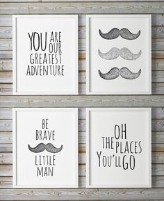 Oh The Places You'll Go You Are Our Greatest Adventure Printable Boys Room Quote…