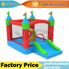 466.00$  Buy here - http://alib6s.worldwells.pw/go.php?t=32377748374 - Home use nylon bounce house inflatable jumping castle trampoline toys for kids