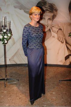 Princess Diana's wax figure at Madame Tussaud's.