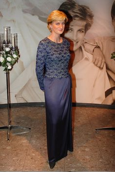 Princess Diana's wax figure at Madame Tussaud's.