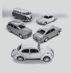 Volkswagen models range for 1966.