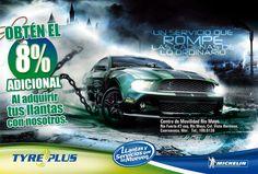 Lona Tyreplus para el Car Show de Morelos.