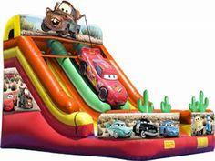 Cars Slide Venta De Tobogan Inflable Comprar Barato Precio De Cars Slide Fabrica Tobogan Inflable En Disney Cars Toboganes Alquiler De Castillos Inflables
