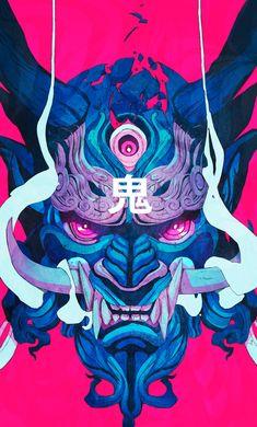 Amazing art by Chun Lo Illustrator Artist Hot Pink Anime Illustrator, Japon Illustration, Illustration Example, Website Illustration, Illustration Styles, Tattoo Illustration, Illustration Fashion, Illustration Artists, Art Asiatique
