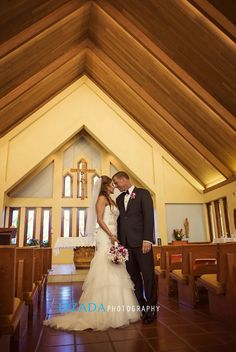 Sacred Hearts Mission Church In Kapalua Maui Wedding Bride Destination