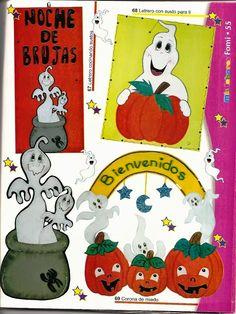manualidades en foami para halloween