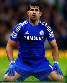 Chelsea striker Diego Costa ( Daily Mail 31/01/15 ).