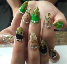 Weed nails. Cool idea but who the fuck would waste a bowl or two just to put it in your nails?