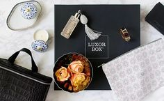 Luxor Box is a every-other-month subscription box delivering luxurious spa products, top-shelf beauty products and unique treasures from around the world.