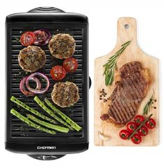 Health and Home 21Inch Nonstick Electric Griddle 201