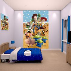 Walltastic Toy Story Poster Mural - http://godecorating.co.uk/walltastic-toy-story-poster-mural/