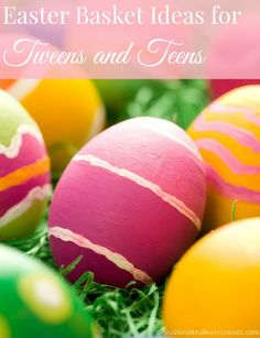 Searching for ideas that teens and tweens will actually LIKE and LOVE in their Easter basket? These creative, inexpensive tips will have your kids high giving the Easter Bunny this holiday season! Stress free and simple, teenagers and kids will be thrilled with these basket fillers!