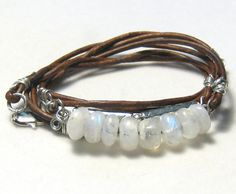 Love the spiral on the wire wrapped ends