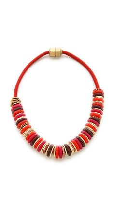 Marc by Marc Jacobs Bolt Slice Necklace