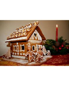 With more than 400 submissions, we saw some fascinating gingerbread houses (ranches, cottages, and tree houses) inspired by your favorite Christmas songs, paintings, books, and time periods. Take a look at our favorite entries.